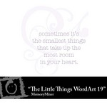 The Little Things WordArt 19 Freebie-$0.00 (Lasting Impressions)