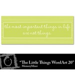 The Little Things WordArt 20 Freebie-$0.00 (Lasting Impressions)