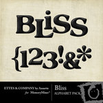 Bliss Alphabet Pack-$1.00 (Ettes and Company by Annette)