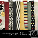 Bliss Paper Pack 1-$3.99 (Ettes and Company by Annette)