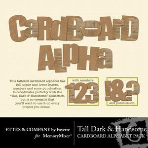 Tdhcardboardalpha medium