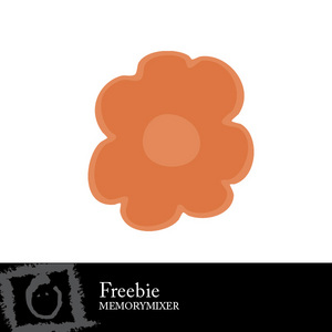 Freebie flower medium