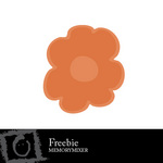 Freebie flower small