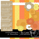 The Little Things Mini Pack June-$3.00 (Lasting Impressions)