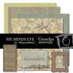 Grandpa Mini Pack-$2.49 (My Minds Eye)