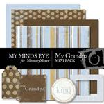 My Grandpa Mini Pack-$1.25 (My Minds Eye)