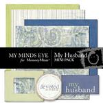My Husband Mini Pack-$2.00 (My Minds Eye)