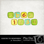 Play Alphabet Pack-$2.00 (Albums to Remember)
