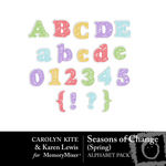 Season of Change Spring Alphabet Pack-$1.00 (Karen Lewis)