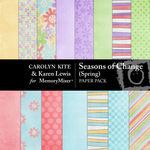 Season of Change Spring Paper Pack-$3.99 (Karen Lewis)