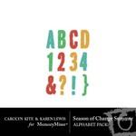 Season of Change Summer Alphabet Pack-$2.49 (Karen Lewis)