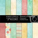 Season of Change Summer Paper Pack-$1.75 (Karen Lewis)
