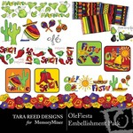 OleFiesta Embellishment Pack-$3.50 (Tara Reed Designs)