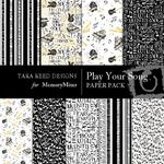 Play Your Song Paper Pack-$4.00 (Tara Reed Designs)