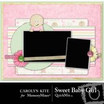 Sweet Baby Girl QuickMix-$3.99 (Carolyn Kite)