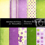Showers Bring May Flowers Paper Pack-$4.00 (Melissa Nuttall)