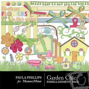 Garden chick prp emb medium