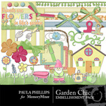 Garden Chick PRP Embellishment Pack-$2.99 (Paula Phillips)