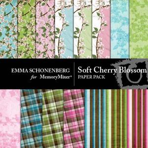 Soft cherry blossom pp medium