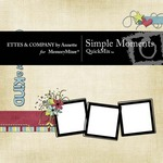 Simple Moments QuickMix-$5.00 (Ettes and Company by Annette)