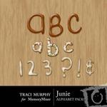 Junie Alphabet Pack-$1.00 (Traci Murphy)