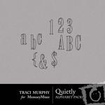 Quietly Alphabet Pack-$1.00 (Traci Murphy)