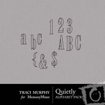 Quietly Alphabet Pack-$1.00 (Traci Murphy)