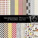 Welcome To The Roost Paper Pack-$3.99 (Tara Reed Designs)