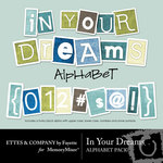 In Your Dreams Alphabet Pack-$1.00 (Fayette Designs)