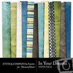 In Your Dreams Paper Pack-$4.00 (Ettes and Company by Fayette)