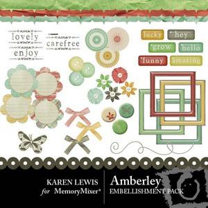 Amberly emb copy medium