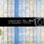 So Blue Paper Pack-$3.99 (Carolyn Kite)