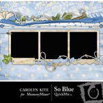 So Blue QuickMix-$3.99 (Carolyn Kite)