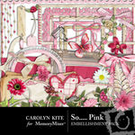 So Pink Embellishment Pack-$2.99 (Carolyn Kite)