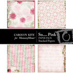 So Pink Layered Paper Pack-$2.49 (Carolyn Kite)