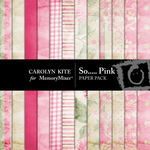 So Pink Paper Pack-$2.40 (Carolyn Kite)