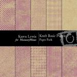 Kraft Basic Purple Paper Pack-$3.99 (Karen Lewis)