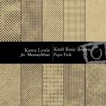 Kraft Basic Brown Paper Pack-$4.00 (Karen Lewis)