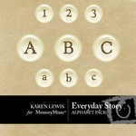 Everyday Story Alphabet Pack-$1.00 (Karen Lewis)