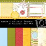 Summer Mini Pack-$3.49 (Albums to Remember)