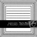 You've Been Framed Embellishment Pack-$2.49 (Karen Lewis)