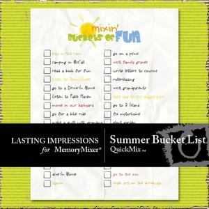 Summer bucket list medium
