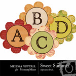 Sweet Summer Alphabet Pack-$1.00 (Melissa Nuttall)