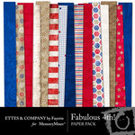 Fabulous 4th Paper Pack-$3.99 (Ettes and Company by Fayette)