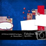 Fabulous 4th QuickMix-$2.50 (Fayette Designs)