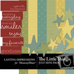 The Little Things Mini Pack July-$3.00 (Lasting Impressions)