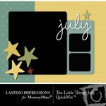 The Little Things July QuickMix-$2.99 (Lasting Impressions)
