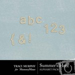 Summers Here Alphabet Pack-$1.00 (Traci Murphy)