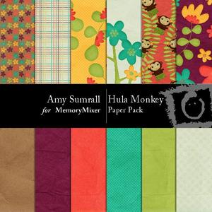 Hula monkey pp medium