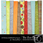The Zoo Crew Paper Pack-$3.99 (Fayette Designs)